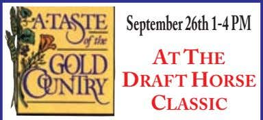 September 26th 1-4 PM AT THE DRAFT HORSE CLASSIC