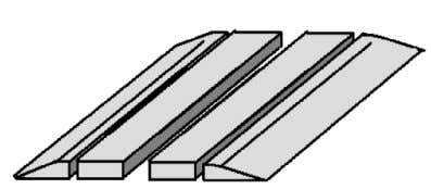 are available in three types, namely: a. Metal Ramp. b. Wooden Ramp. c. Rubber Ramp. Figure