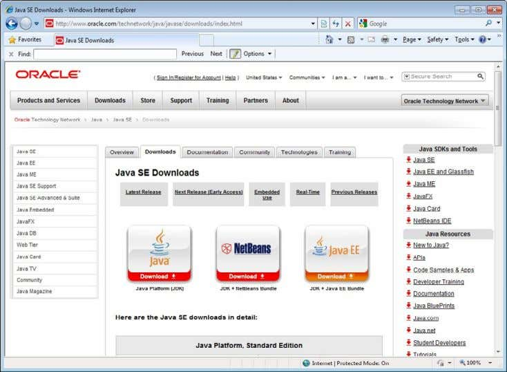 and Organizacion onlyฺ Downloading and Installing the JDK Copyright © 2014, Oracle and/or its affiliates. All