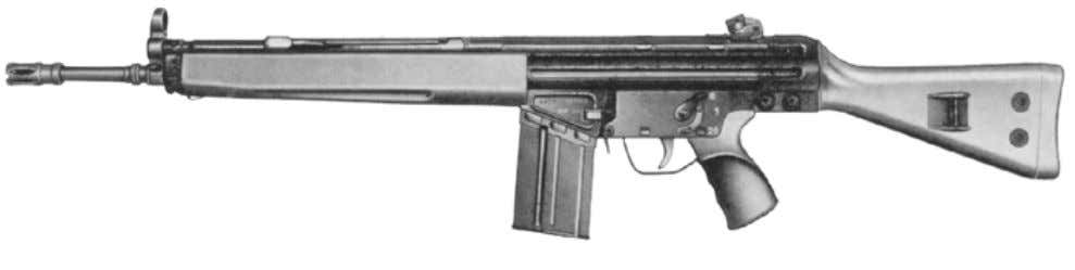 "Description of the G3 Rifle"", Sheet no. 2.2).   Tools: Gauges:   Sheet Auxiliaries: No.: Weapons"