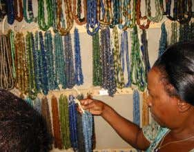 wood, clay and precious metals, etc to adorn themselves. However, in the commercial crafts sector jewellery