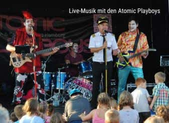 Live-Musik mit den Atomic Playboys