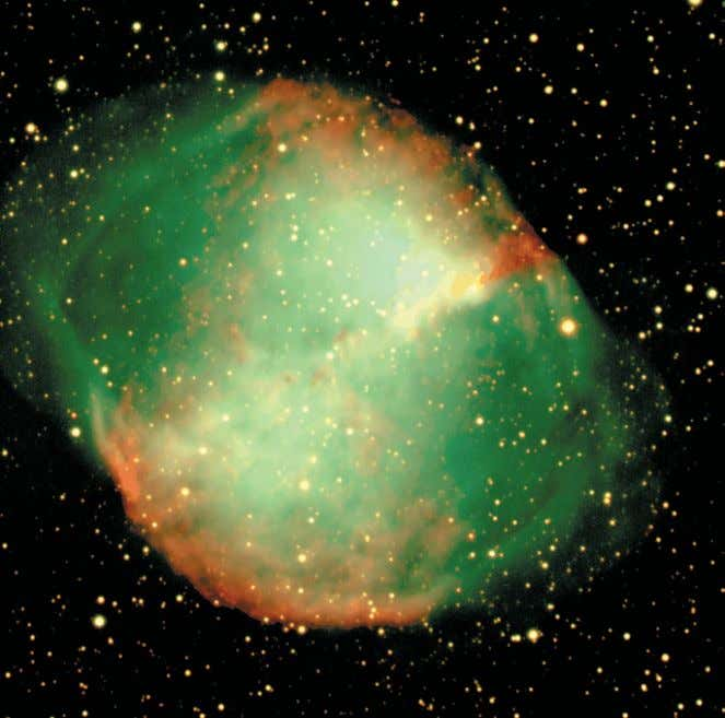 under average seeing conditions on June 11/12, 2001. Figure 1: The Dumbbell nebula from 10 min-
