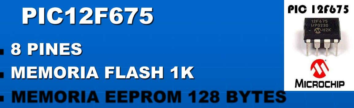 8 PINES MEMORIA FLASH 1K