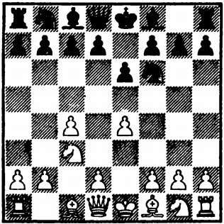 27 English Opening This is the so-called Franco­ English Opening, an attempt by White either to