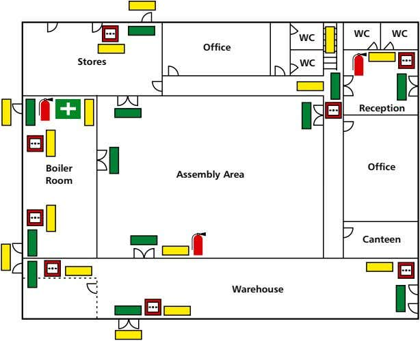 WC WC WC Office Stores WC reception Boiler Office Assembly Area room Canteen Warehouse