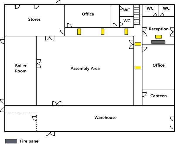 WC WC WC Office Stores WC reception Boiler Office Assembly Area room Canteen Warehouse n