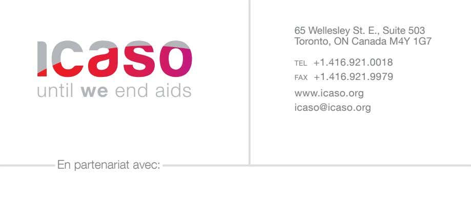 65 Wellesley St. E., Suite 503 Toronto, ON Canada M4Y 1G7 tel +1.416.921.0018 fax +1.416.921.9979