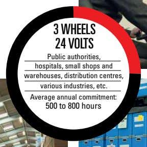 warehouses, distribution centres, various industries, etc. Average annual commitment: 500 to 800 hours