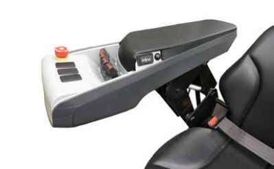 environment protection • Salt water environment protection Mini-levers Integrated into the armrest of your seat,