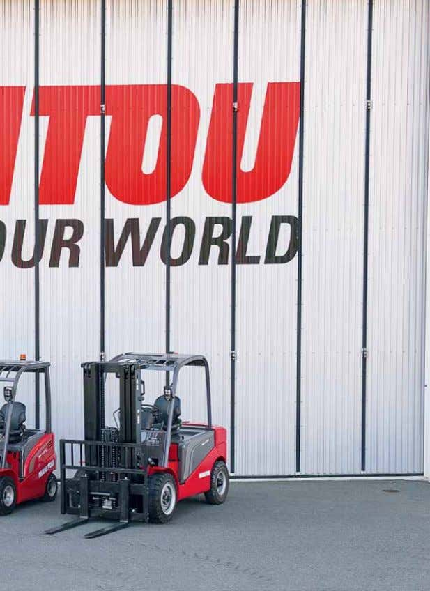 The model that's right for you! Choose from a wide range of forklifts with lifting