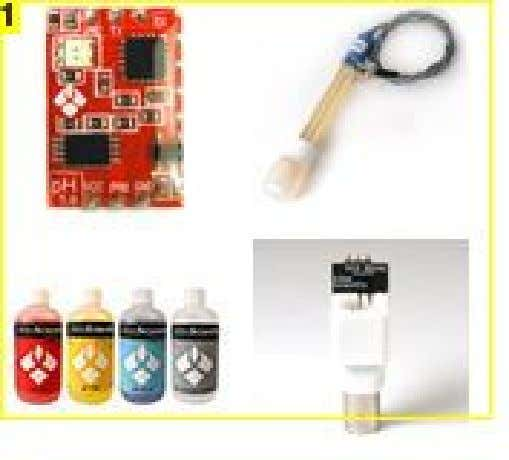 Image Notes 1. pH Sensor Kit - Atlas Scienfific - $106 1. Conductivity Sensor Kit -