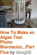 How To Make an Algae Test Photo Bioreactor Part ... Five by dsieg58