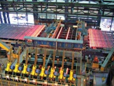 Steel Since its beginnings, Montelektro has been engaged in automation of steel industry all over the