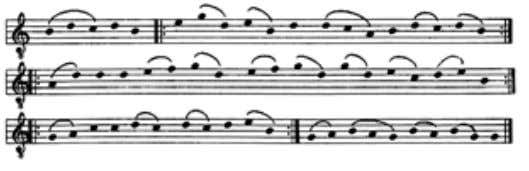For those listeners familiar with the standard form of the Kyrie, the 'Caput' Kyrie will