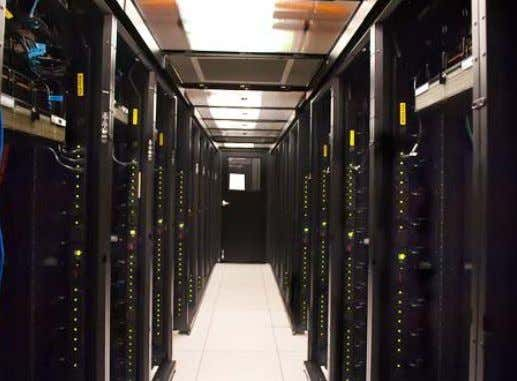 guidelines for datacom equipment (ASHRAE, 2008). Figure 4 6. View of the RSF data center in