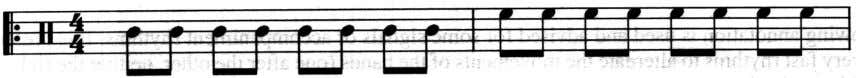 playing andrhythmscomposed of distinct andprecise notes. '~-r ri'--i'--:.j I I I . r rl~l~ - 34-