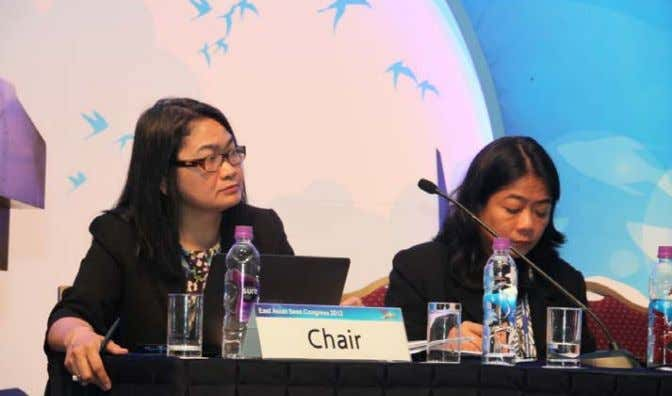 EAS Congress/WP/2012/07 Body on the Seas of East Asia (COBSEA), Coral Reef Initiative, among others, participated