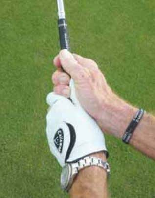 GET A FEEL FOR A PERFECT GRIP When it came to designing the molded grip,