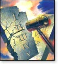 The Ten Commandments are a moral law. Secular liberals do not understand the moral content of
