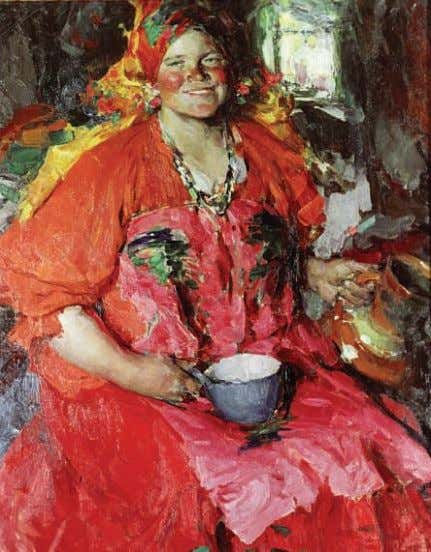 fg. 1. A. Arkhipov (1862-1930), The girl with a jug , State Tretyakov Gallery, Moscow