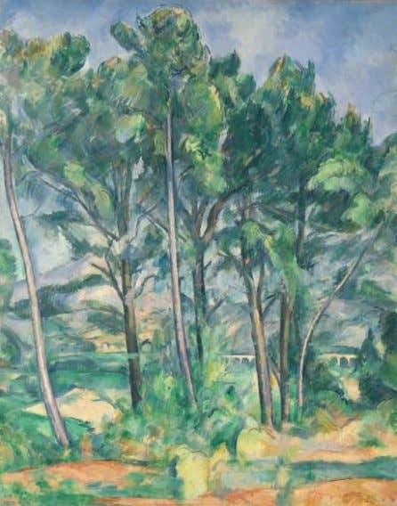 nasledie [ Artistic legacy ], Moscow, 1964, listed p. 105. fg. 1. P. Cézanne (1839–1906), The