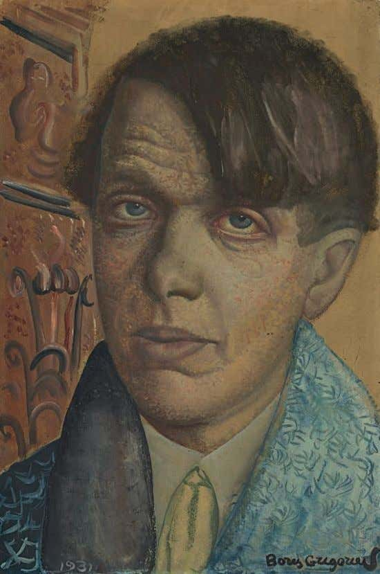 fg. 1. Boris Grigoriev in Paris, 1922 PROPERTY FROM AN IMPORTANT PRIVATE COLLECTION 44 BORIS