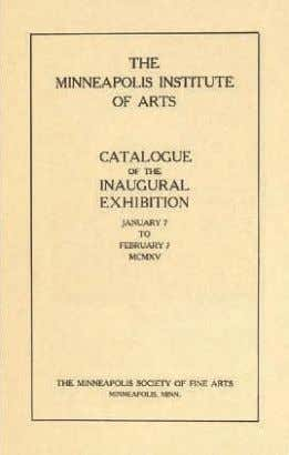 cm.) £400,000-600,000 $650,000-960,000 €510,000-760,000 Title page of the exhibition catalogue: Catalogue of the