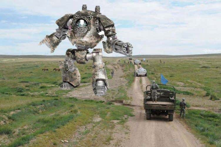 of Defense Unveils T-700, Highly Advanced 'Death Robot' October 15, 2012 by Armydave, The Duffle Blog.