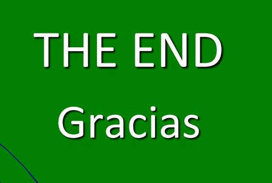 THE END Gracias