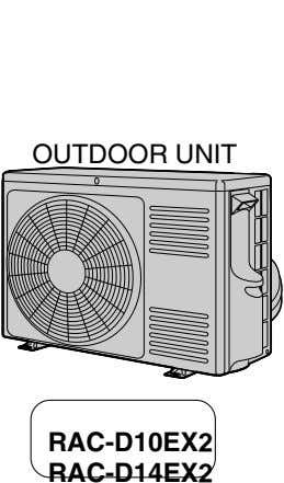 OUTDOOR UNIT RAC-D10EX2 RAC-D14EX2
