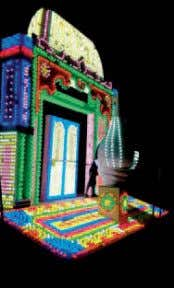 Updates Trade news P hilips India recently created a LED lit 'Arch and Shankh' structure on