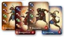 your play experience with these dynamic figures. 50 15 6 Spell Cards 1 Farrenroc Tile Encounter