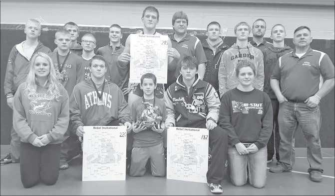 over $1,000 of financial assistance COMMUNITY LIVING Tournament champions The Athens High School wrestling team