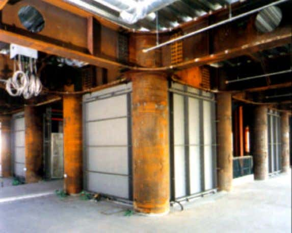 shop welded and field bolted. (photos: Nippon Steel, Japan) Figure 2.14. A view of building with