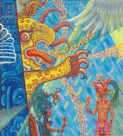 of Tezcatlipoca, the deity that embraced both good and evil. THE CHAC MOOL The Chac Mool