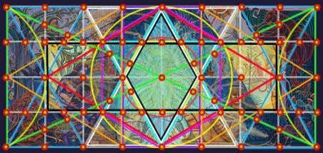 the next selected point, thus creating visual movement. (B) The All-Seeing Eye The Hexagon The ""
