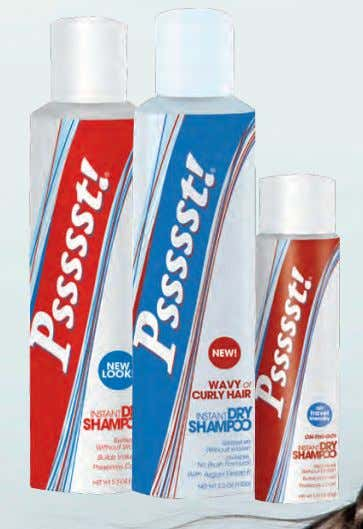 PSSSST SHAMPOO SECO SPRAY INSTANTANEO 150GR $ 15.000 PSSSST SHAMPOO SECO ON THE GO CABELLO