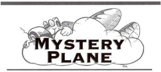 BY H .G . FRAUT S CHY MARCH'S MYSTERY ANSWER Our March Mystery Plane was