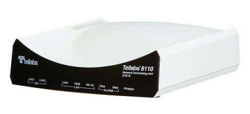 response times throughout the network and service lifecycle. Tellabs ® 8110 Network Terminating Unit See