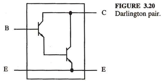 product of the two individual transistors, usually 10,000. 3.4.6 The Phototransistor and Opto-Isolator Opto-Isolator