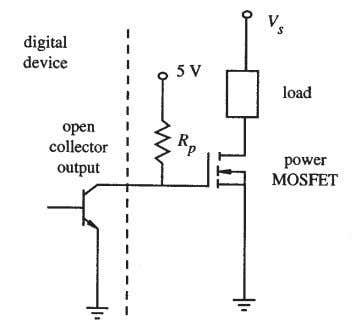 gate is 0V, and when the transistor is OFF, the gate is 5V. HOME WORK –