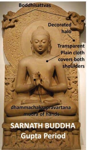 and Gandhara predominantly only sitting Buddha is shown. In south, Vengi was important Buddhist center of