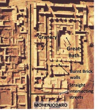 baths like the Great Bath at Mohenjodaro which is significant that most of the houses had