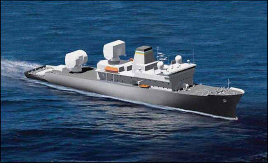 and Air Force operational test agencies to write the Test Figure 7. Artist's Concept for USNS