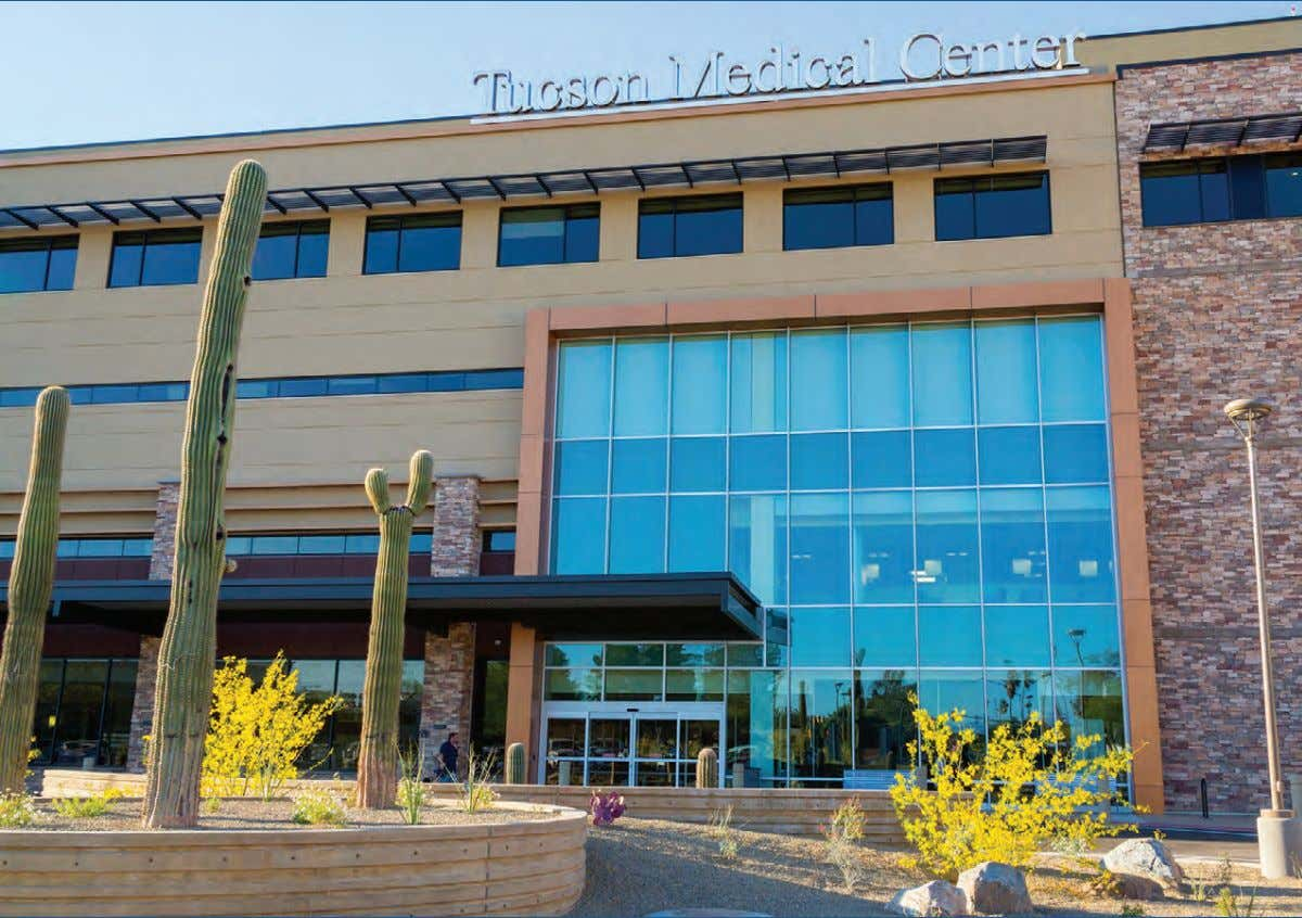 of the 17th United States Surgeon General JUNE/JULY 2013 SPECIAL TUCSON MEDICAL CENTER ISSUE TMC's new