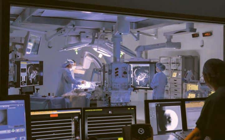 patients, or in most cases equipment, in order to operate. The third floor is devoted to