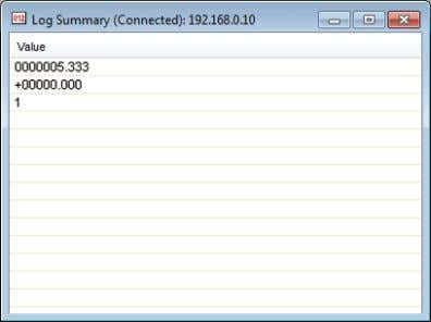 "logs (Log Summary)"" (Page 4-4) for more details. (5) Remote desktop This view shows monitor output"