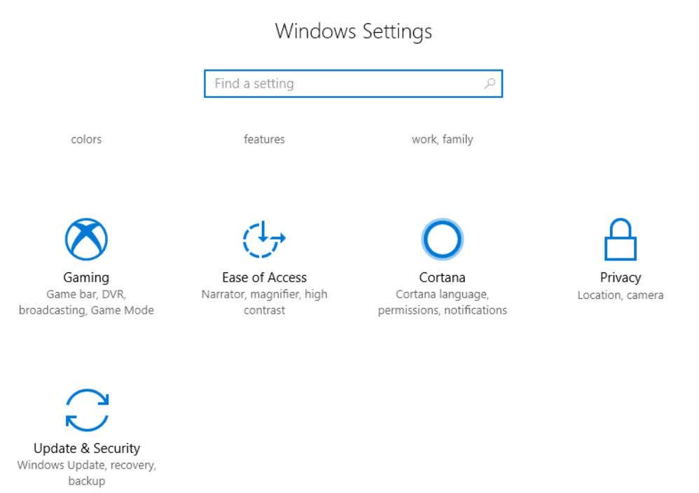 settings in the search bar Then, go to updates and security Click on Windows Update Tab,
