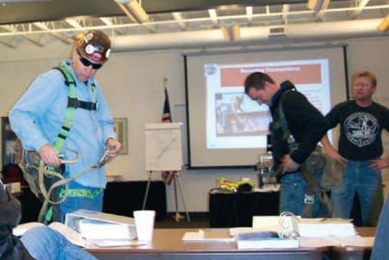 Leading Edge Fall Protection Training Topics In order to comply with OSHA training requirements, employees expected